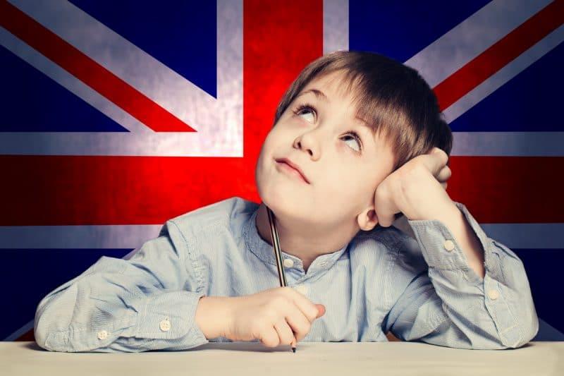 Apprendre l'anglais à un enfant
