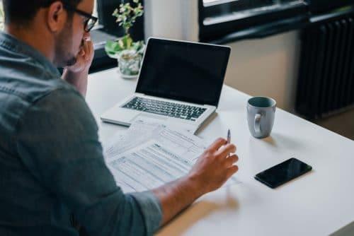 Entrepreneur : établissement d'une facture